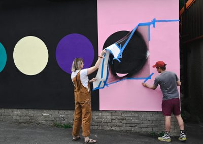 New Street Art unveiled at Cross Lane Projects