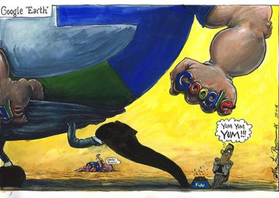 What A Fur Cup – The Political Cartoons and Comics of Martin Rowson